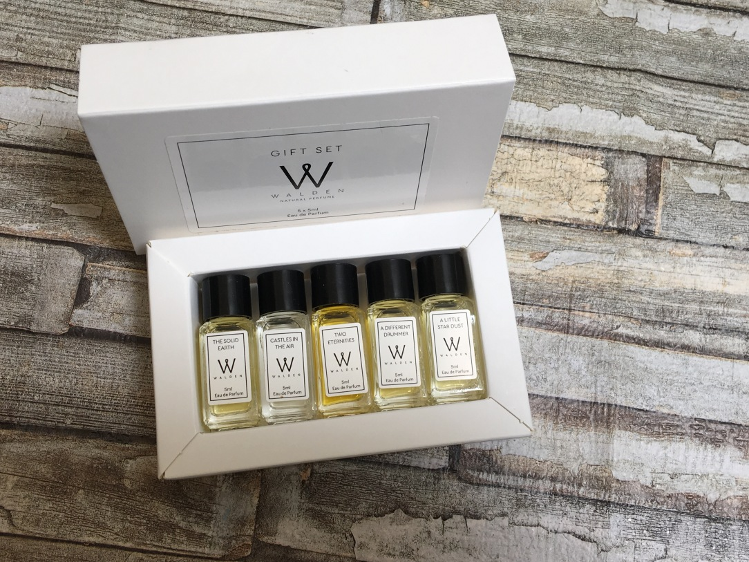 Walden Natural Perfume Gift Set 5 x 5ml