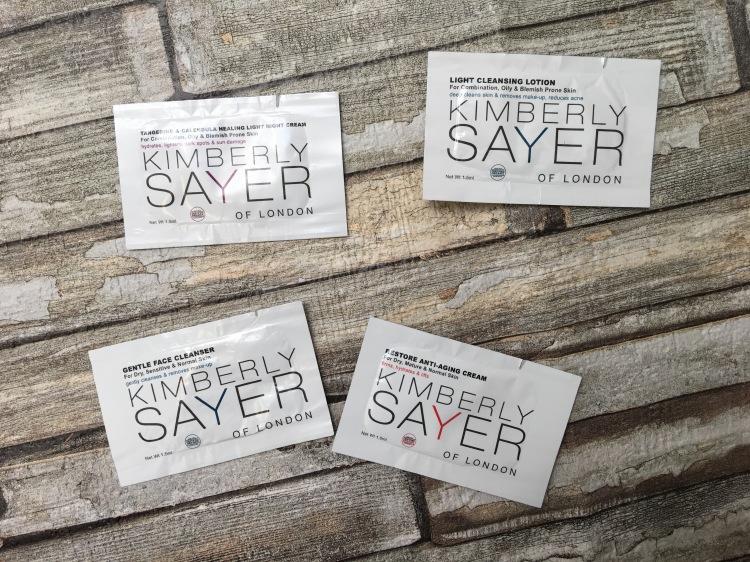 Kimberly sayer sample set