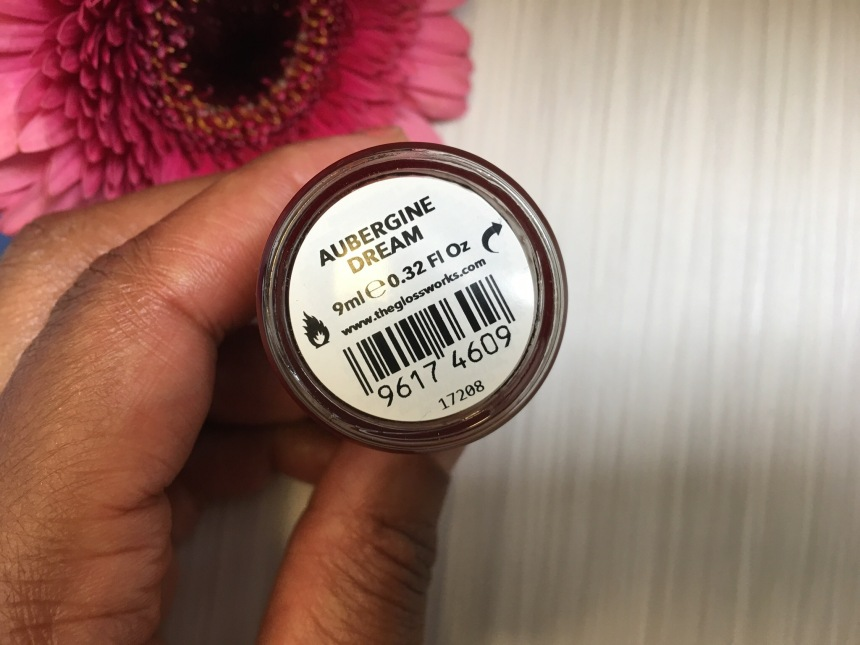 Glossworks Nail Polish Aubergine Dream