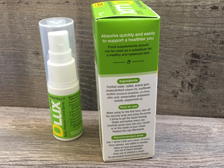 BetterYou DLux 3000 daily vitamin d oral spray