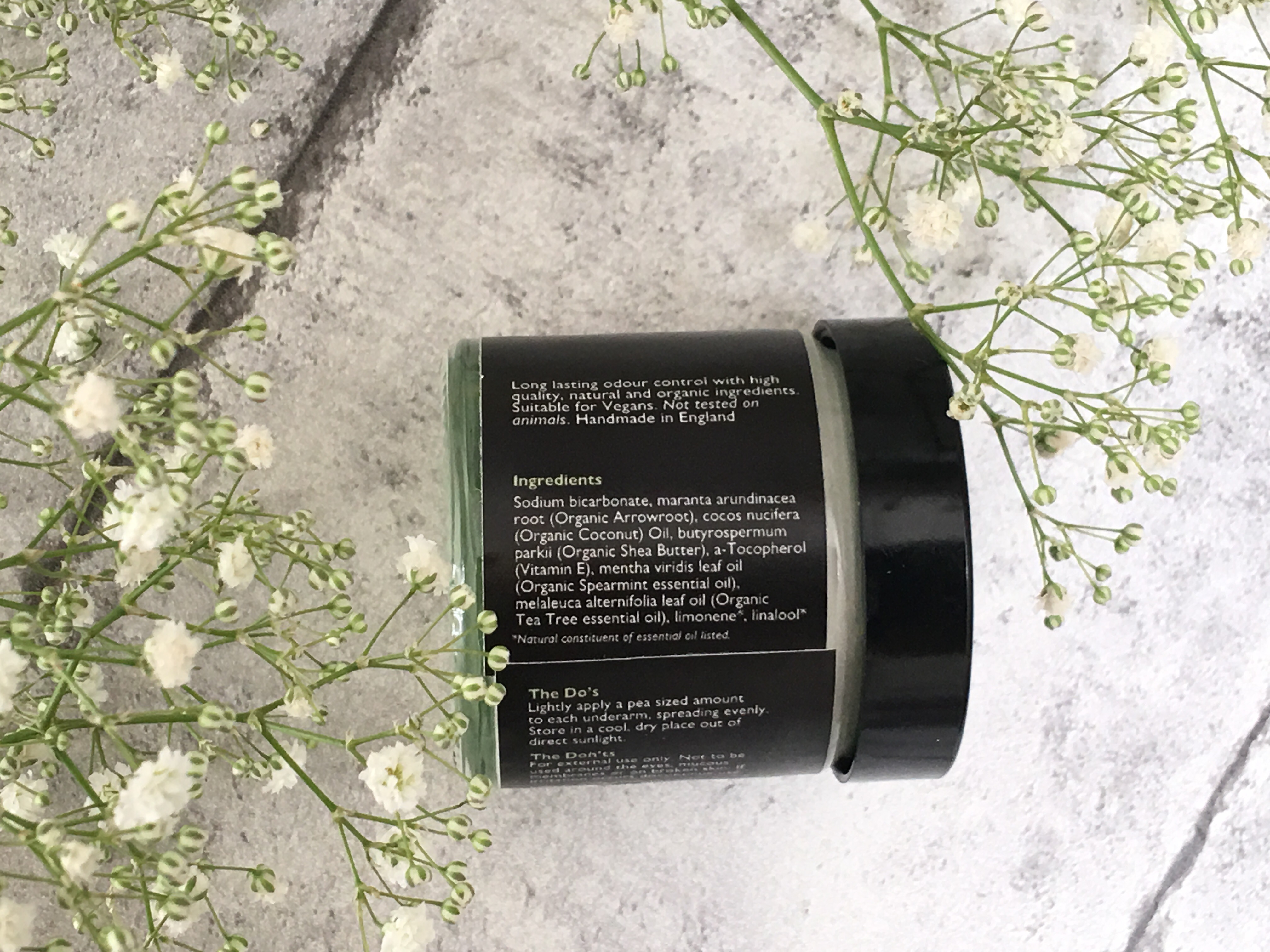 Indigenous beauty Natural Deodorant Cream, Refreshing Spearmint & Tea Tree