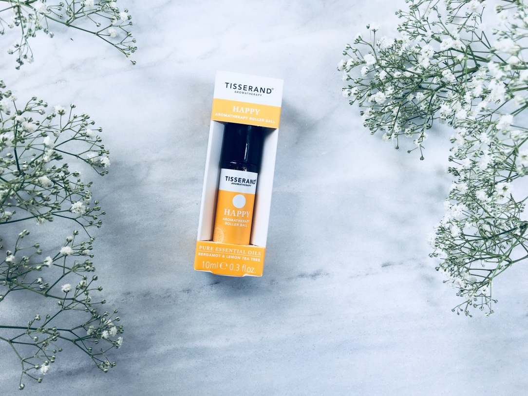 Tisserand happy aromatherapy roller ball