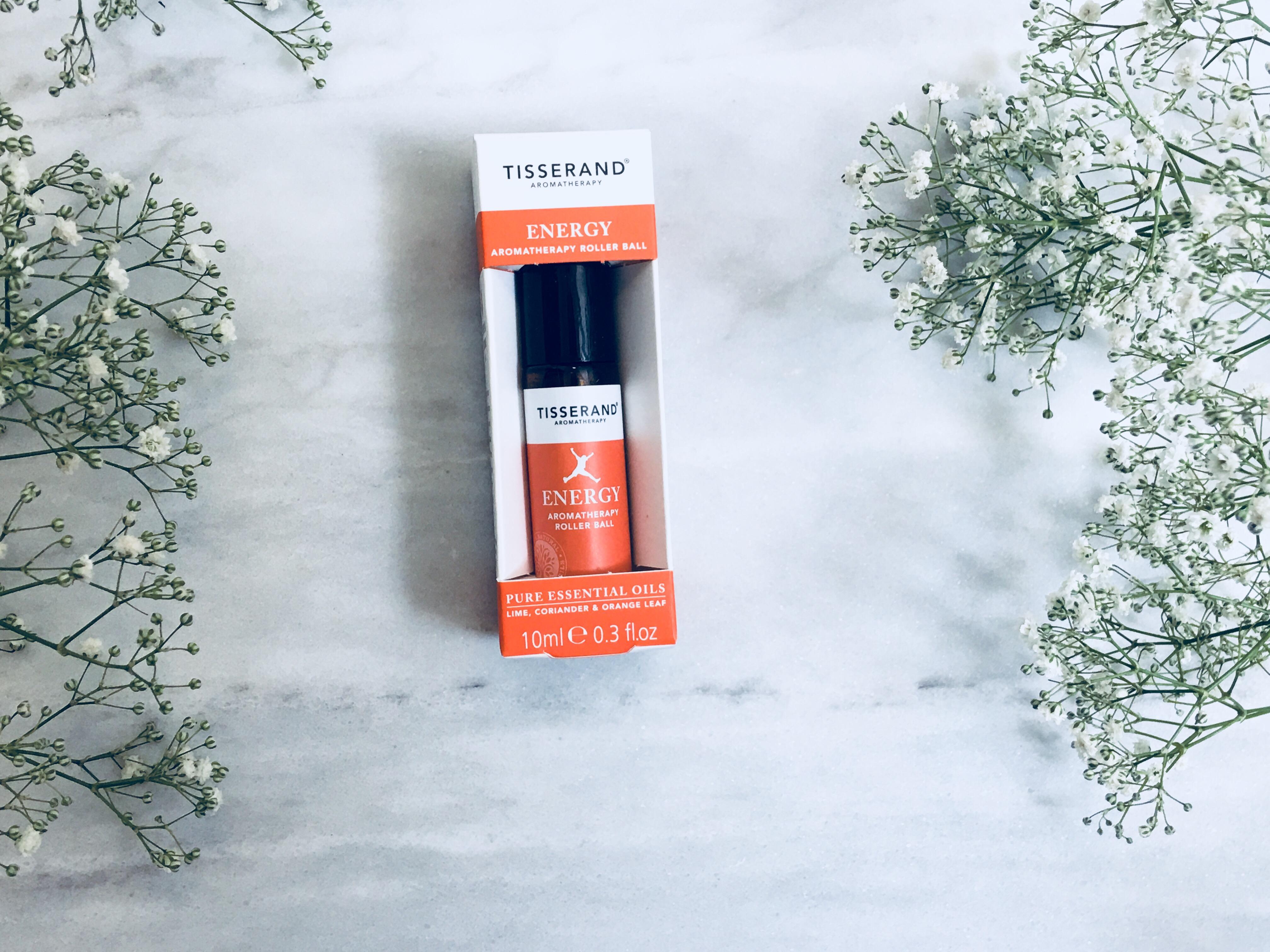 Tisserand energy aromatherapy roller ball