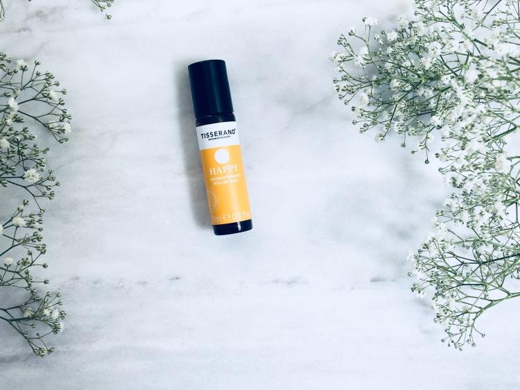 Tisserand happy aromatherapy roller ball