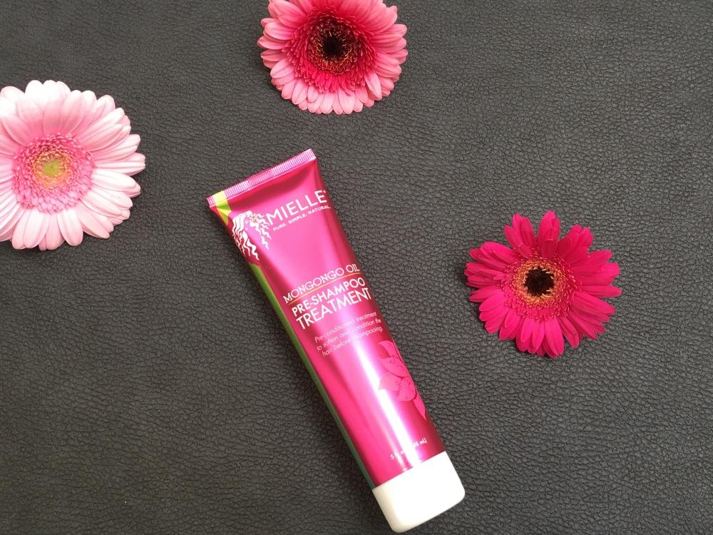 Mielle organics mongongo oil pre-shampoo treatment