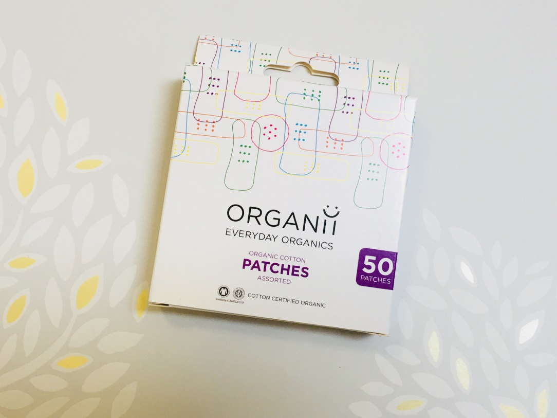 Organii organic cotton patches assorted