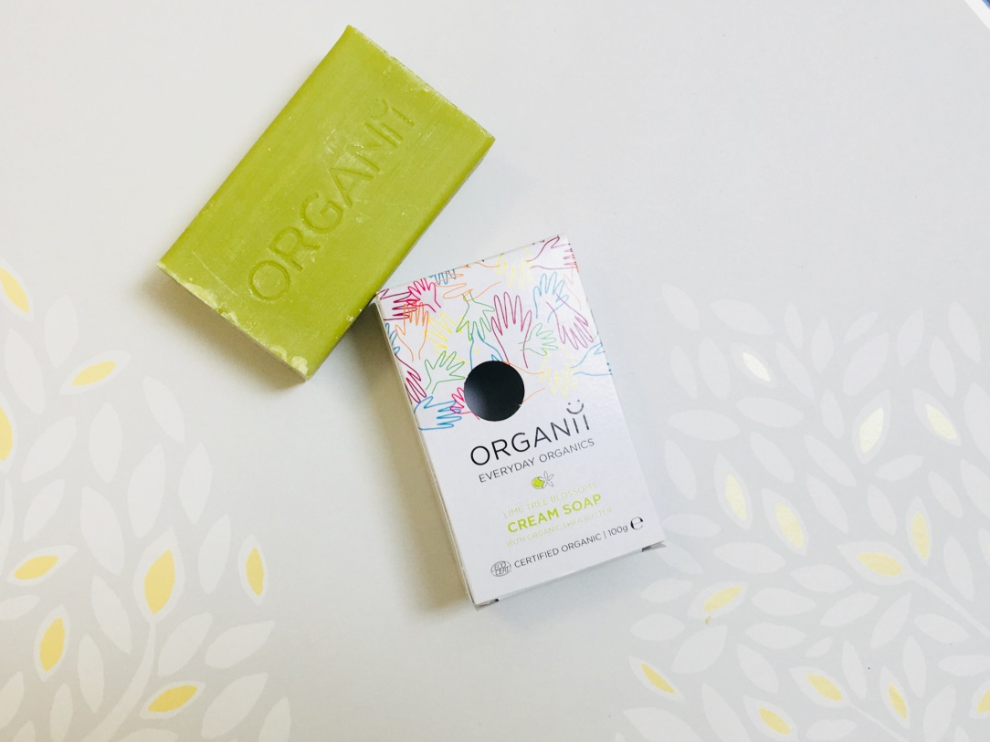 Organii lime tree blossoms cream soap