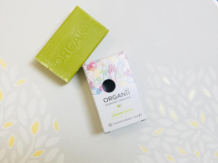Organii lime tree blossoms cream soap