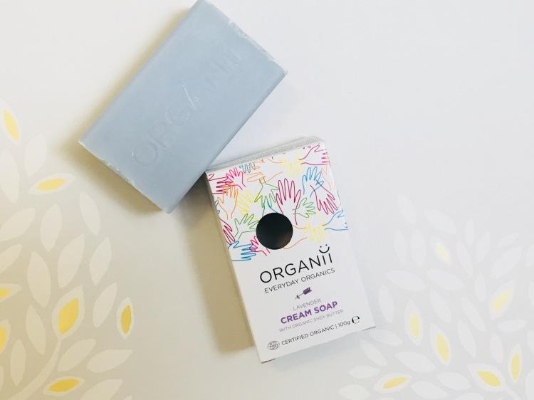 Organii lavender cream soap