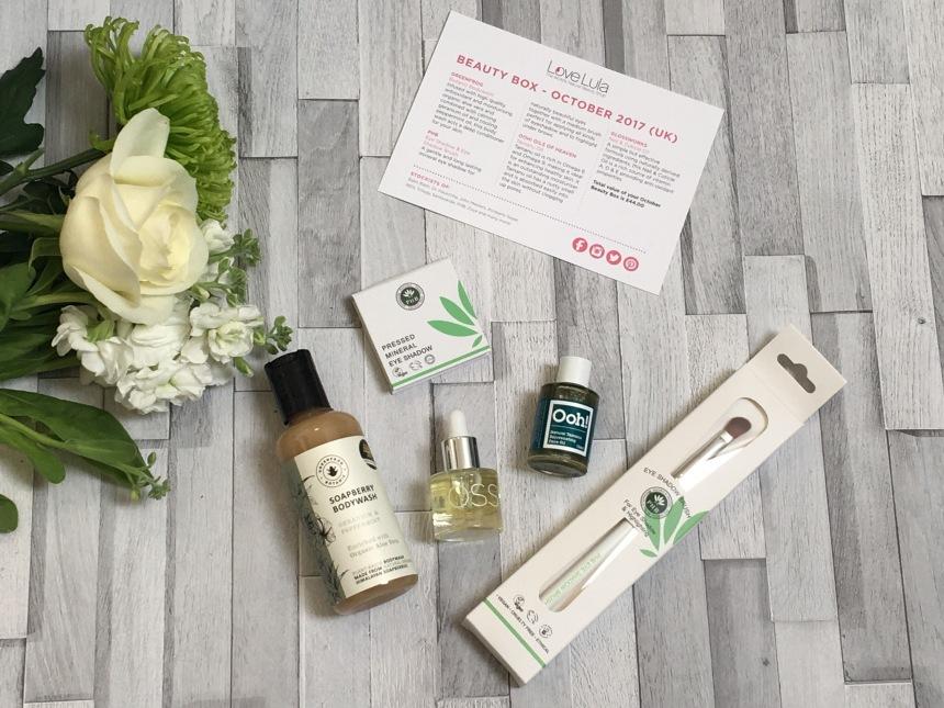 LoveLula Beauty Box October 2017