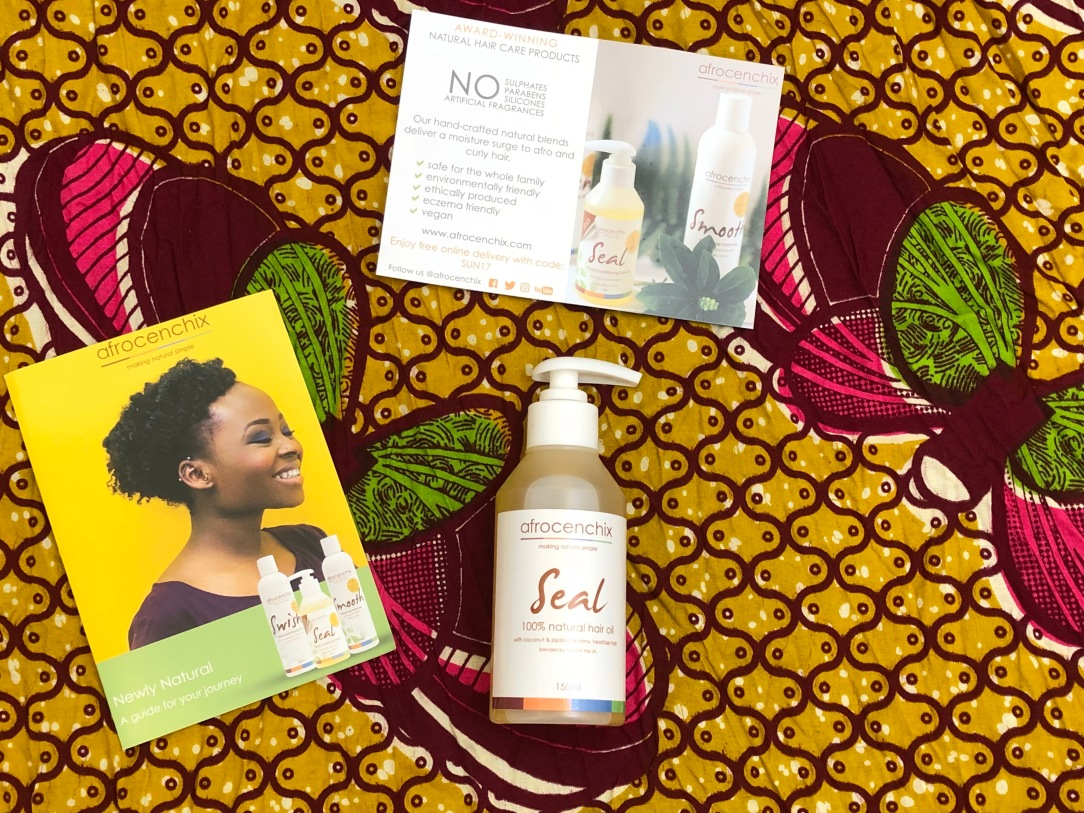 Afrocenchix Seal - Natural Hair Oil