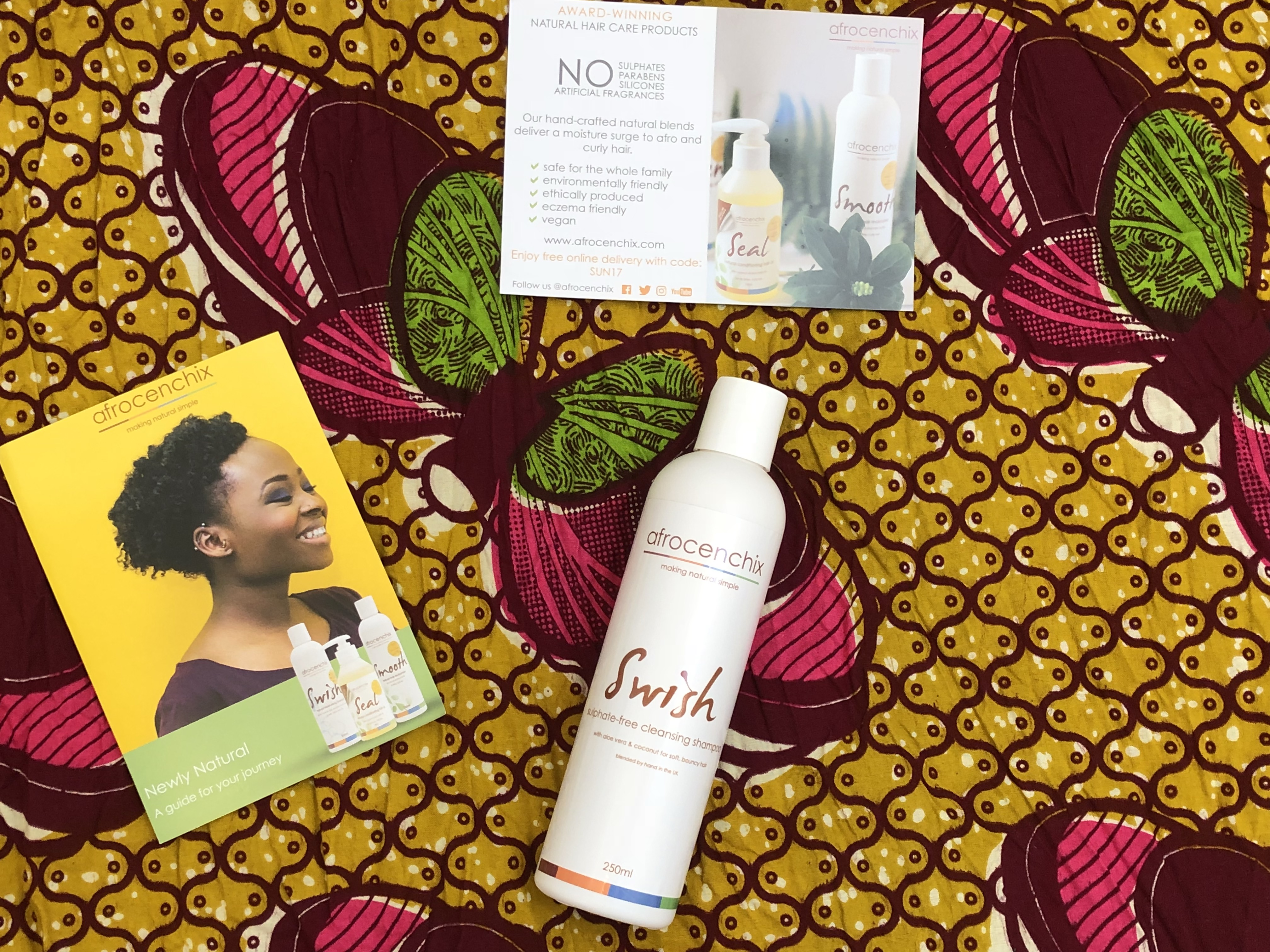 Afrocenchix Swish - Sulphate-free Moisturising Shampoo