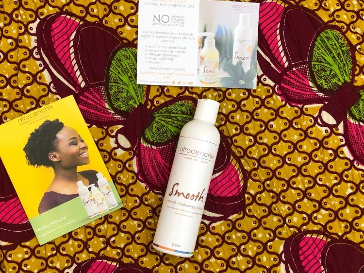Afrocenchix Smooth - Natural Moisturising Cream