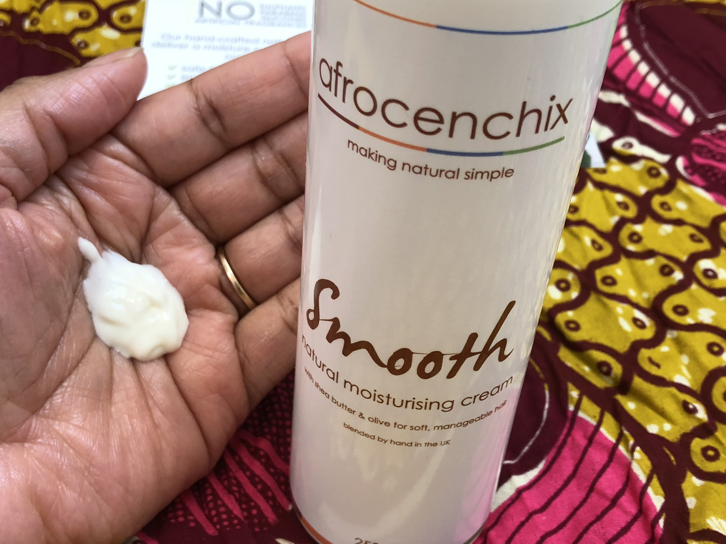 Afrocenchix Smooth - Natural Moisturising Cream