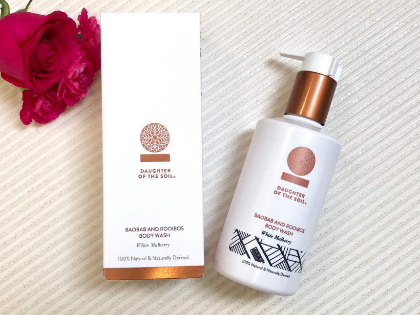 Daughter of the soil baobab and rooibos body wash