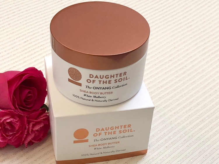 Daughter of the soil Onyang collection Shea body butter