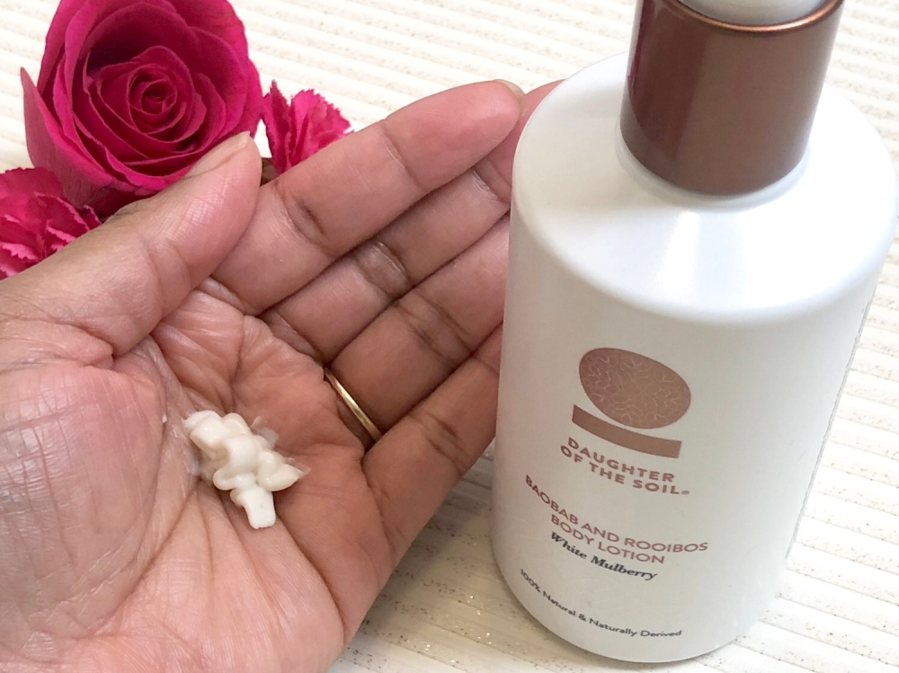 Daughter of the soil Baobab and Rooibos  Body Lotion