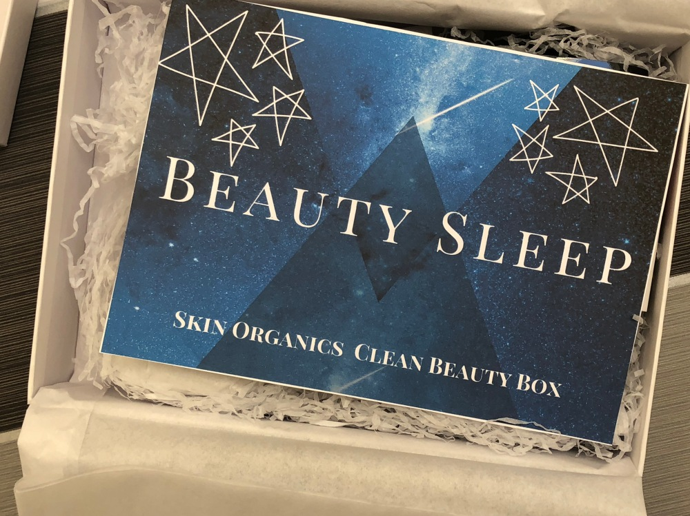 Skin organics clean beauty box November