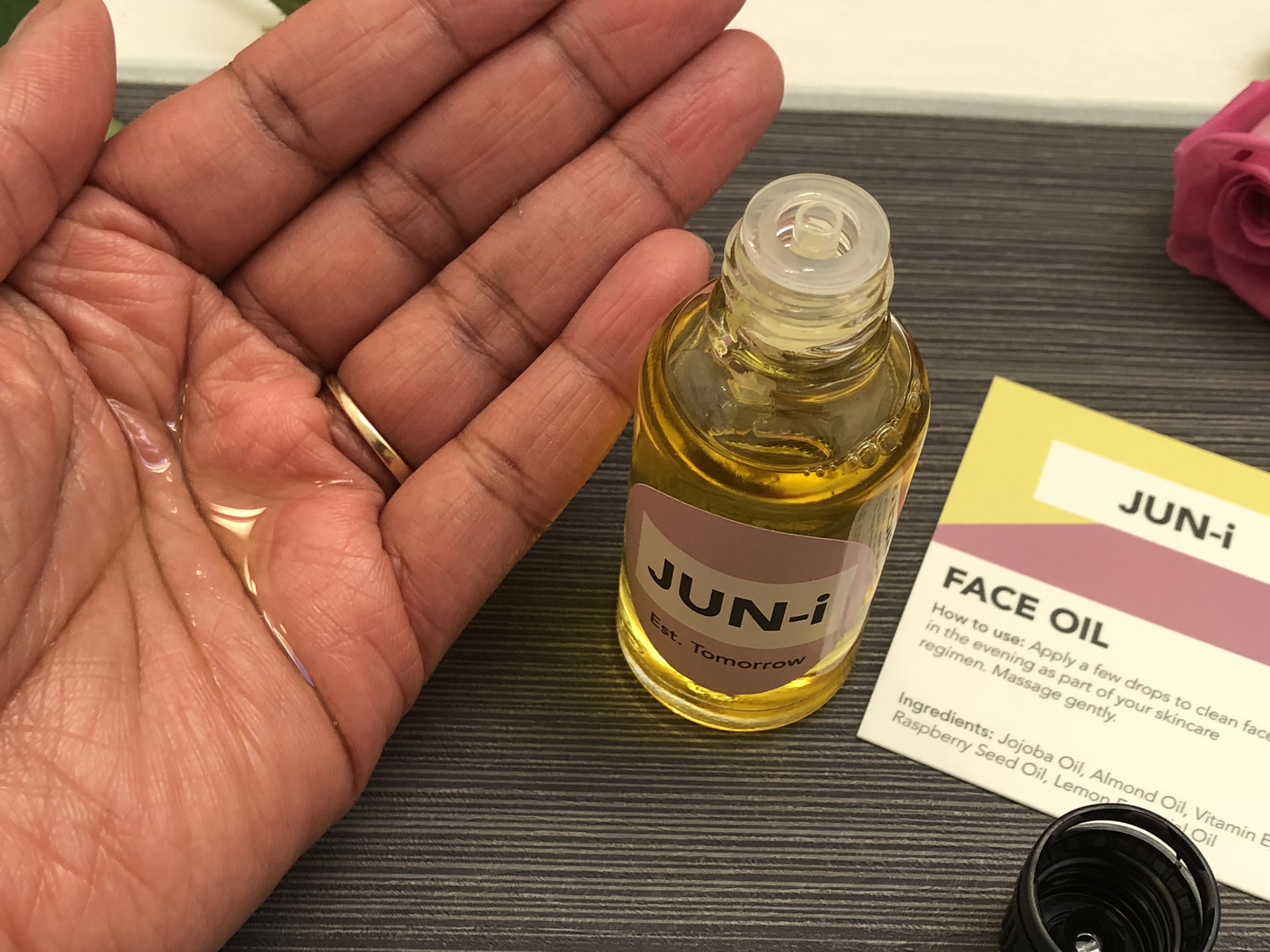 JUN-i The brand facial oil and cleanser