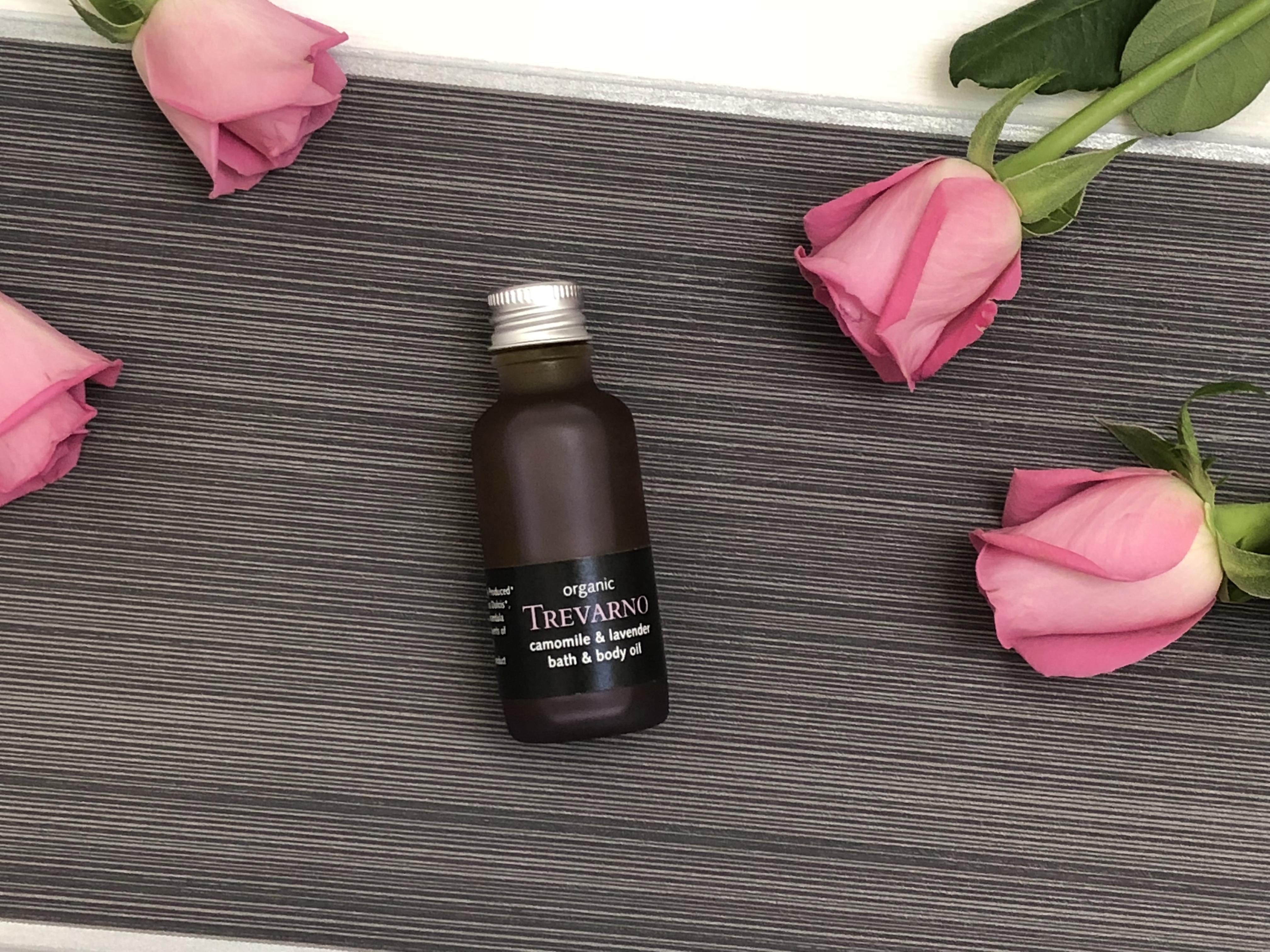 Trevarno Organic Camomile & Lavender Bath & Body oil