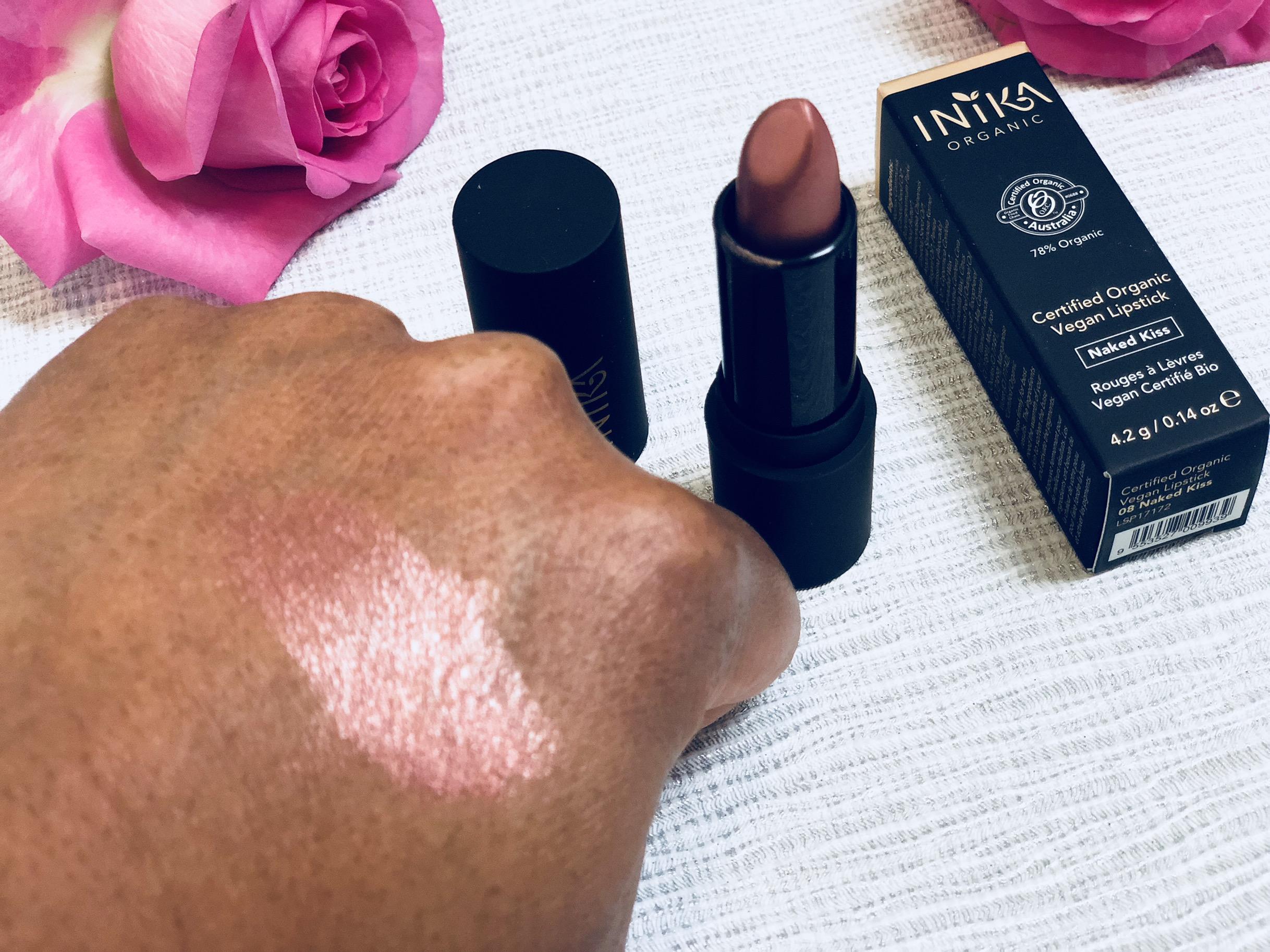 Inika Certified Organic Vegan Lipstick - Naked Kiss