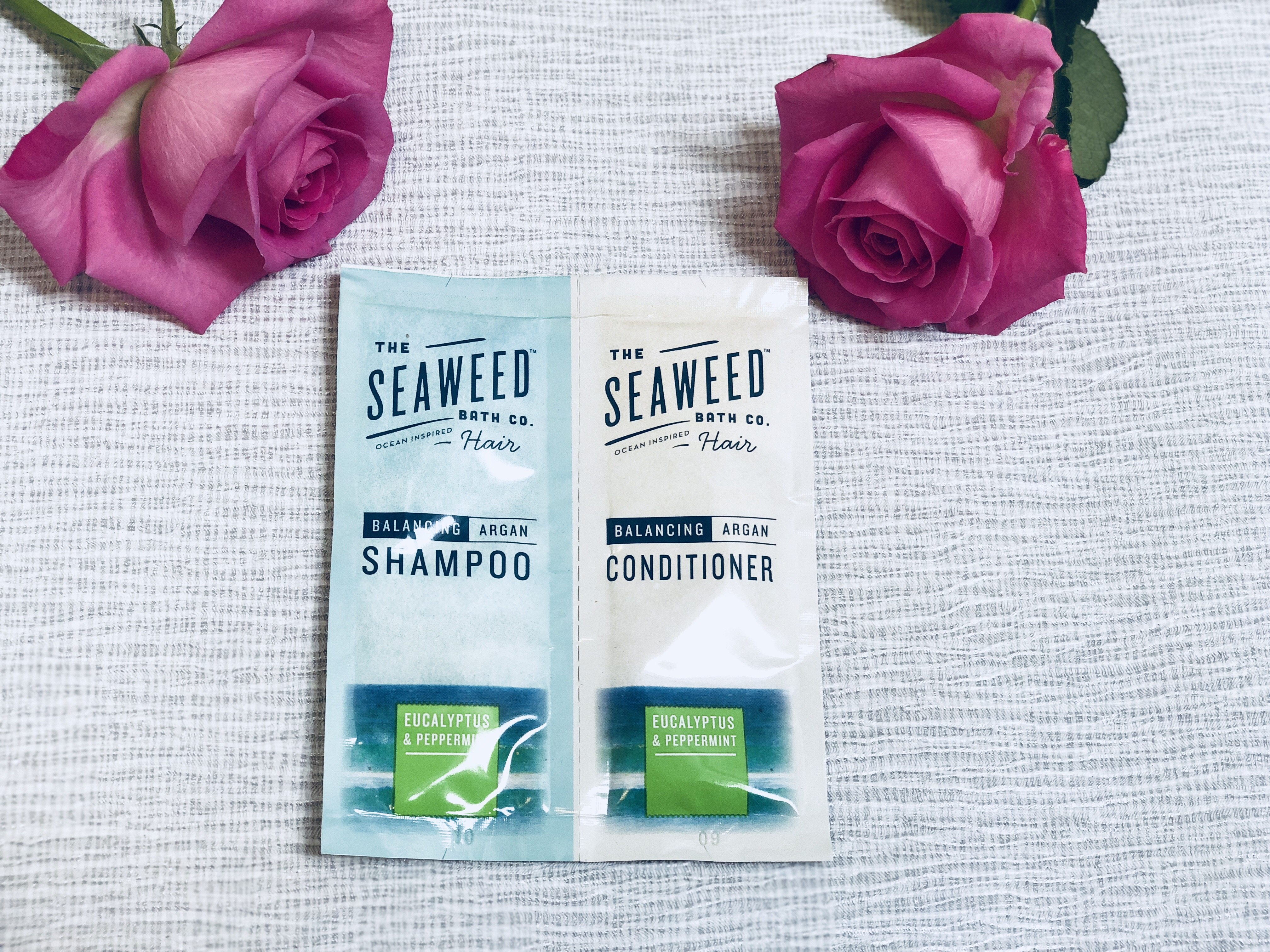 The Seaweed Bath Co. Eucalyptus & Peppermint Balancing Argan Shampoo & Conditioner
