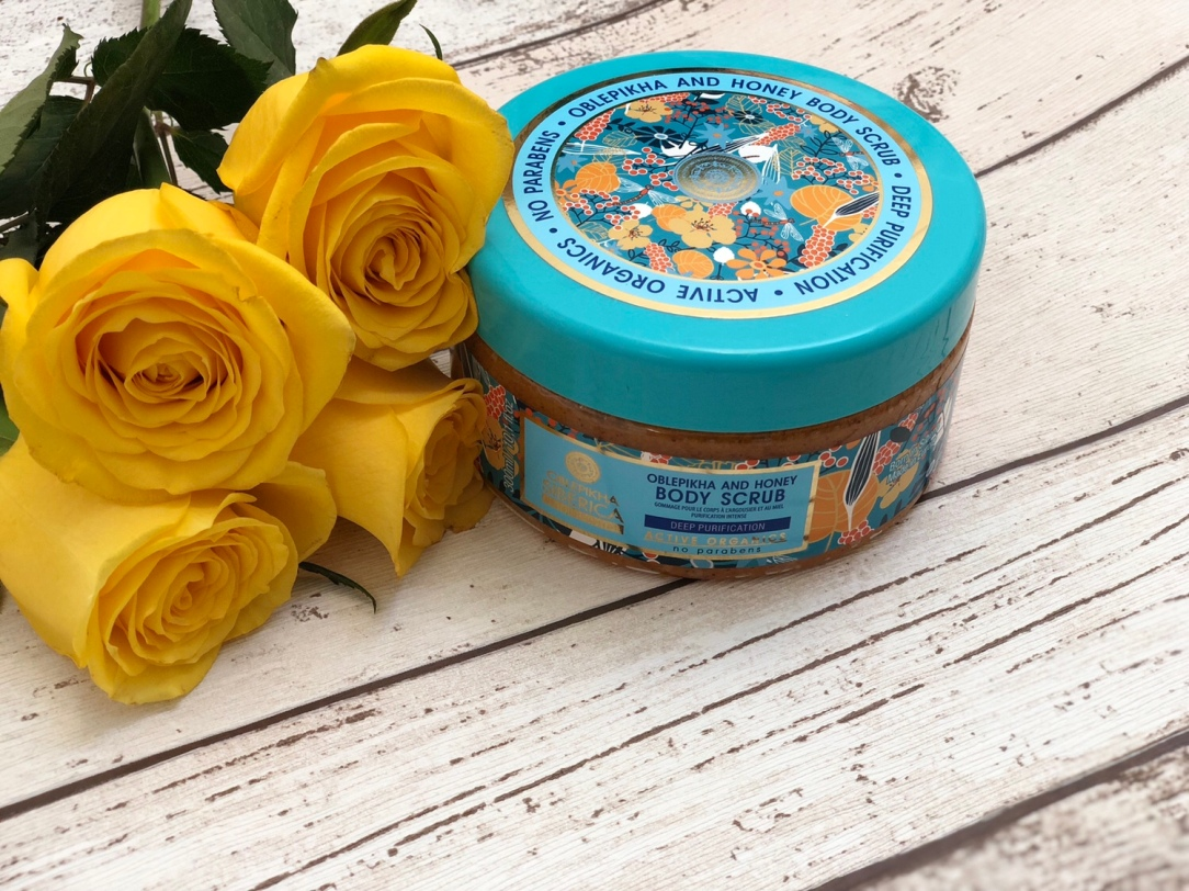Natura Siberica Oblepikha & Honey Body Scrub