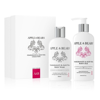 Apple & Bears Pomegranate & Aloe Vera Collection