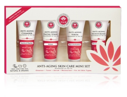 PHB Ethical Beauty Anti-aging Skin Care Mini Set