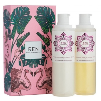 REN Rose to the World - Moroccan Rose Duo Gift Set