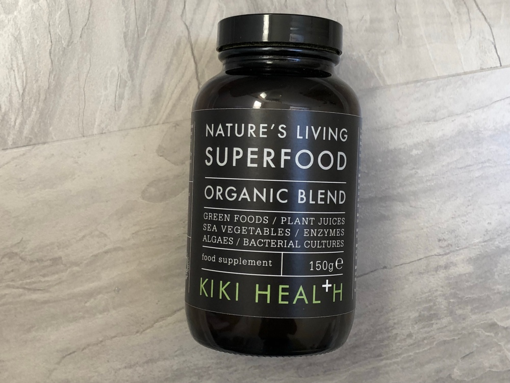 Kiki Health Nature's Living Superfood organic blend