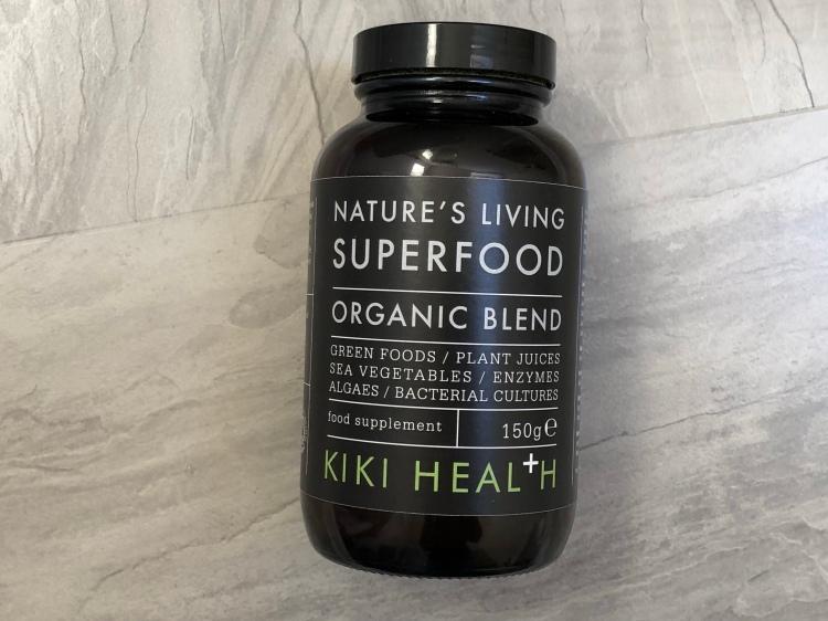Kiki Health Nature's Living Superfood organic blend