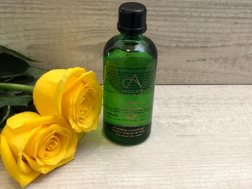 Absolute Aromas Refresh massage oil