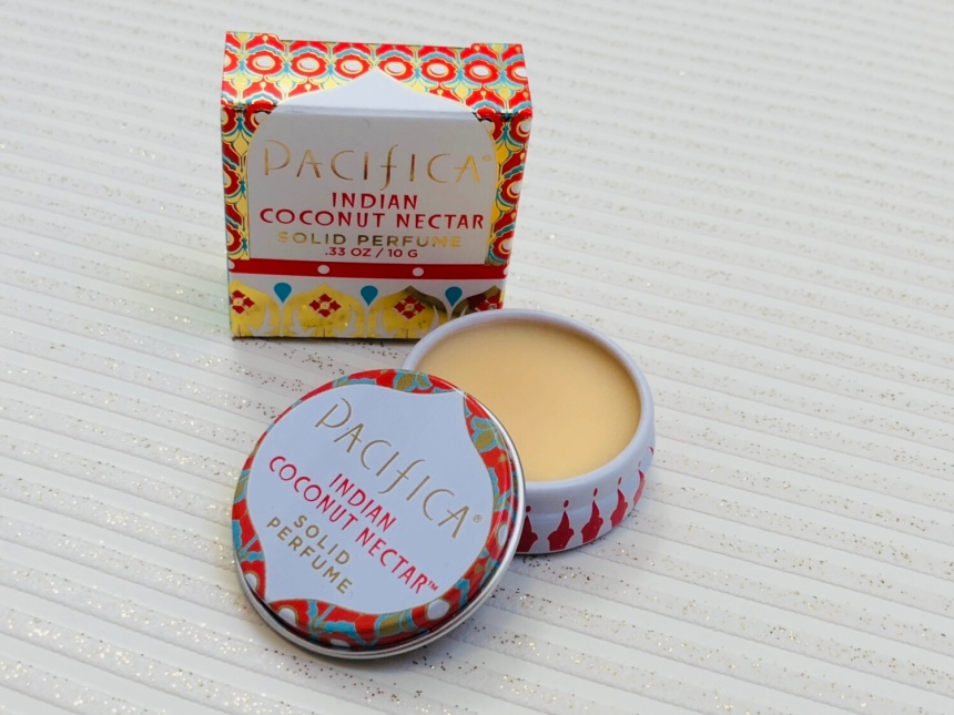 Pacifica indian coconut nectar solid perfume