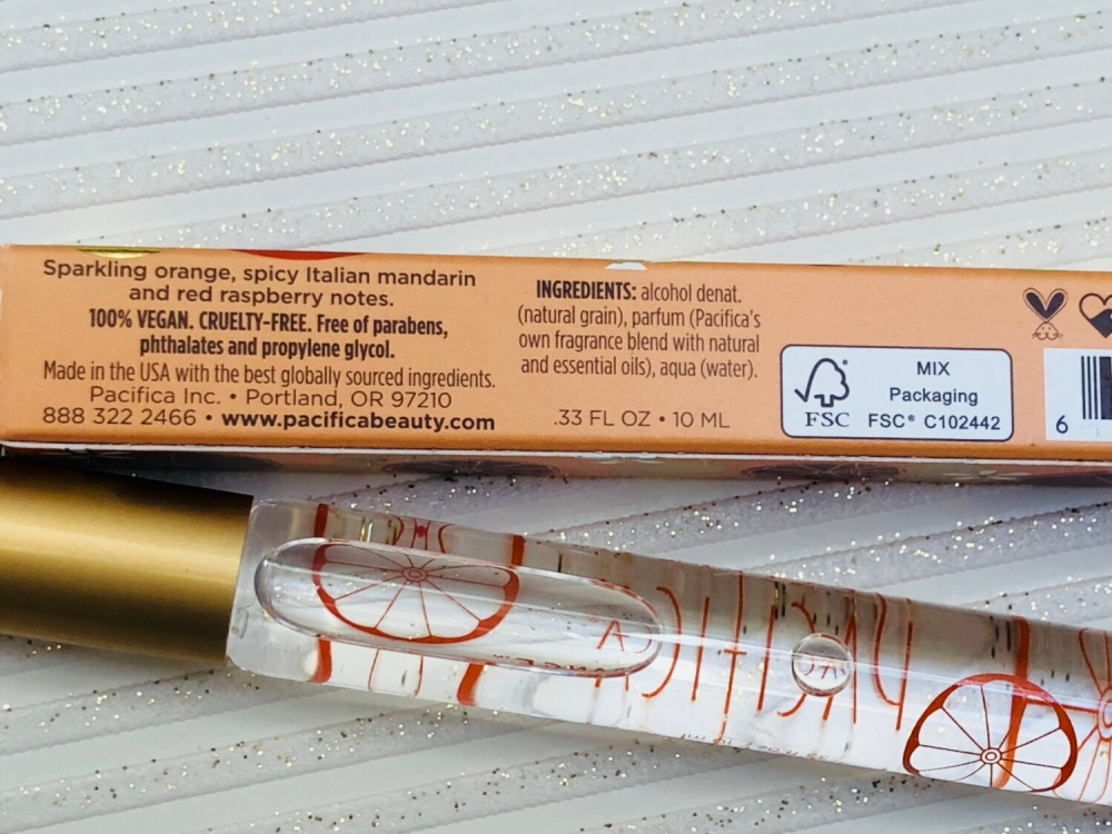Pacifica Tuscan blood orange perfume roll-on