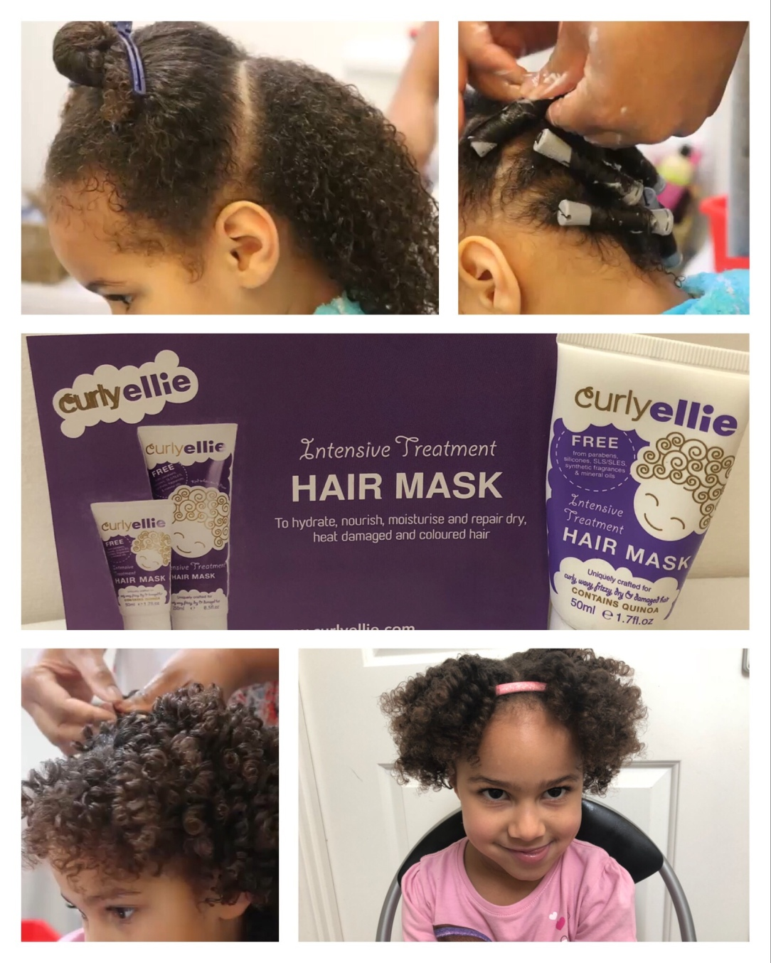 Deep Condition With Curlyellie Intensive Treatment Hair Mask