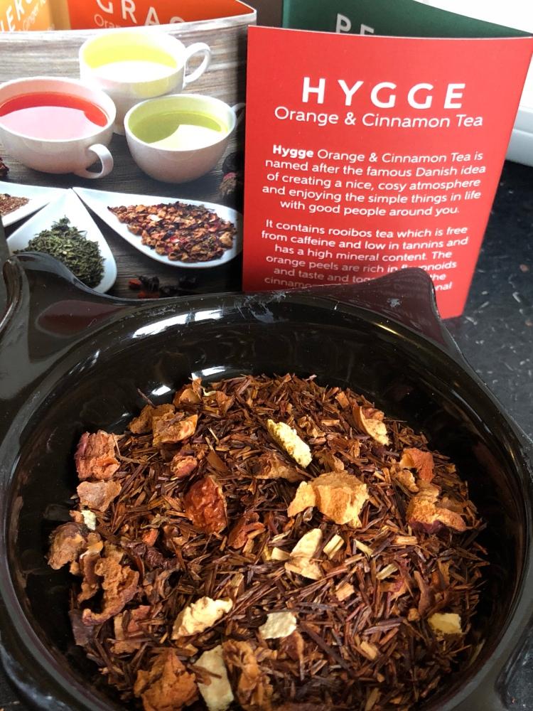 Beauty brews organic teas Hygge orange & cinnamon tea
