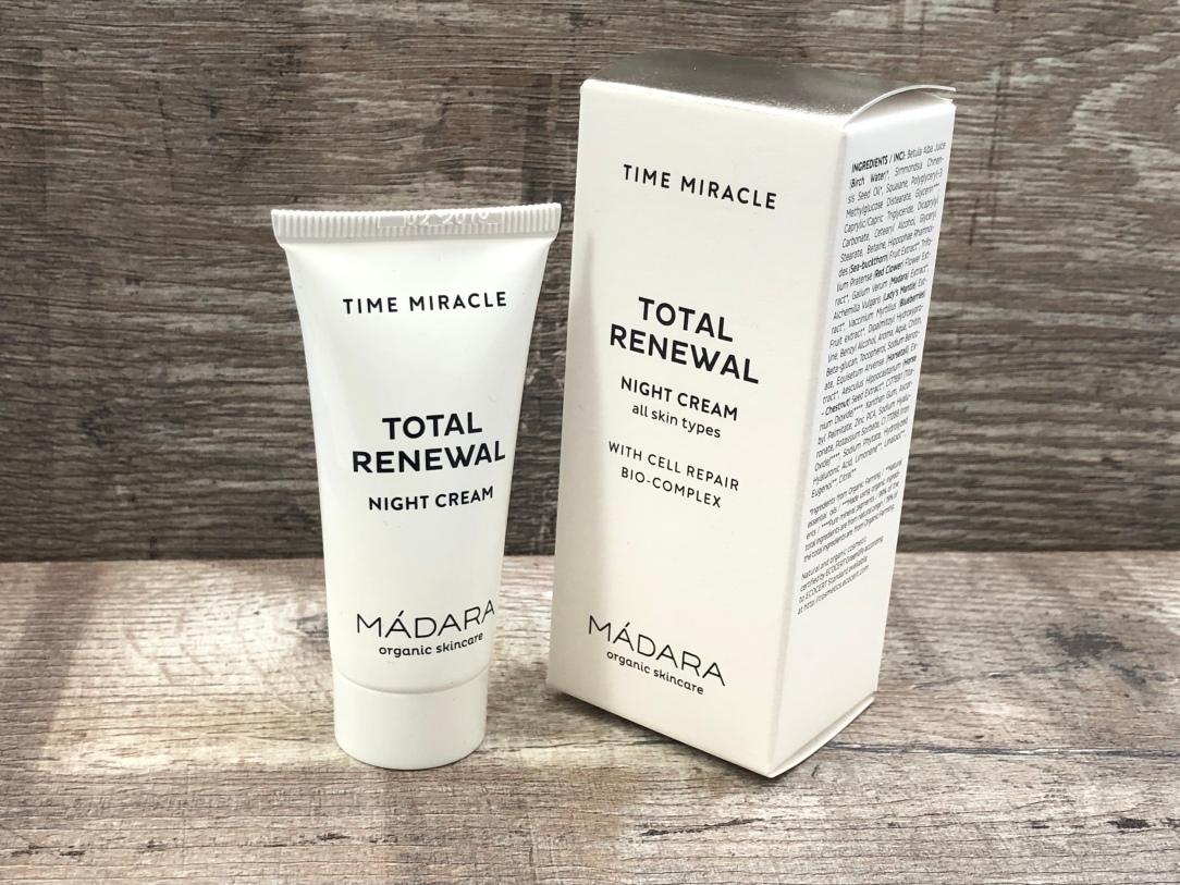 Madara total renewal night cream