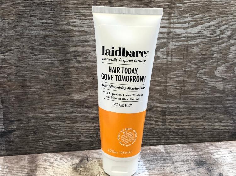 Laidbare Hair Today, Gone Tomorrow! Hair Minimising Moisturiser