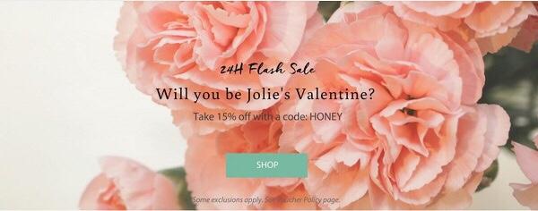 24 hour flash sale Jolie beauty