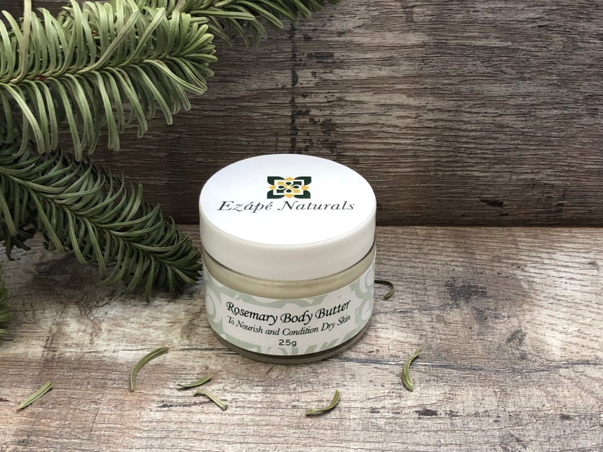 Ezape naturals rosemary body butter