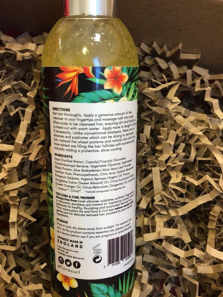 Flora & curl African Citrus Bloom Superfruit Shampoo