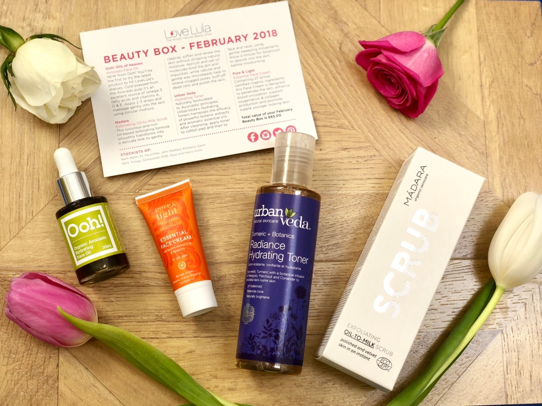 LoveLula beauty box February 2018