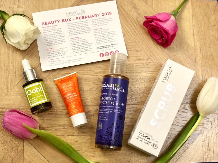 LoveLula beauty box February 2018
