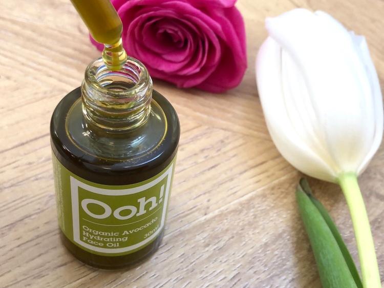 Ooh! - Oils of Heaven Organic Avocado Hydrating Face Oil 30ml