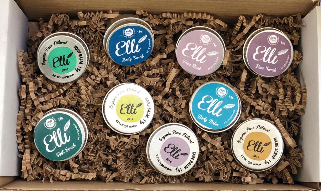 Elli organic beauty range