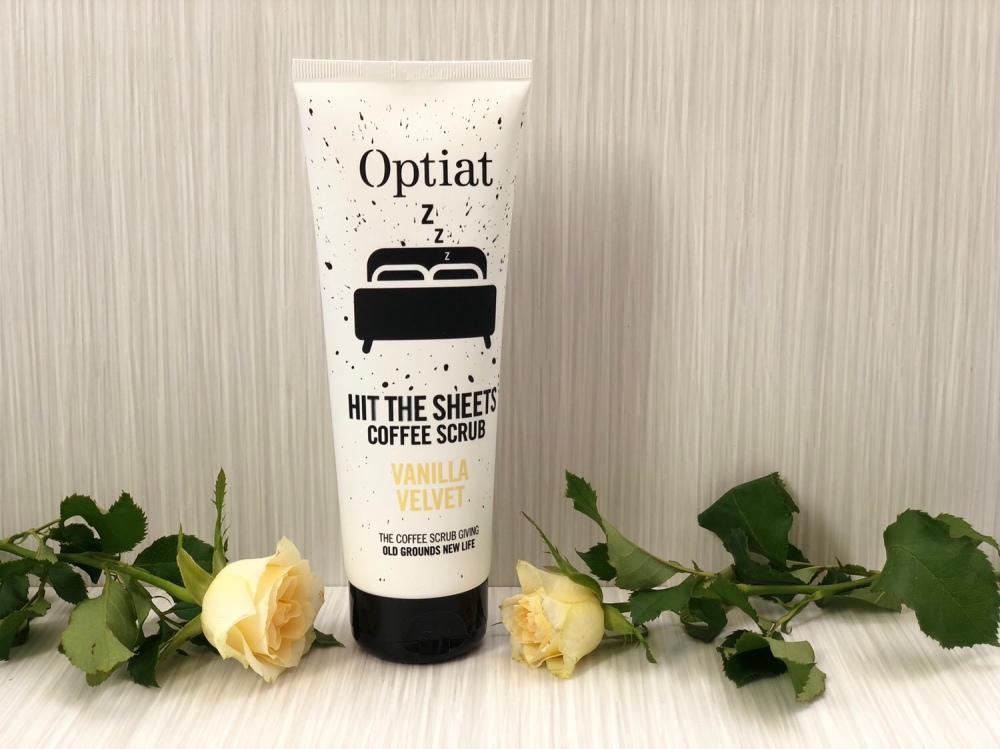 Optiat 'Hit The Sheets' Vanilla Velvet Coffee Scrub