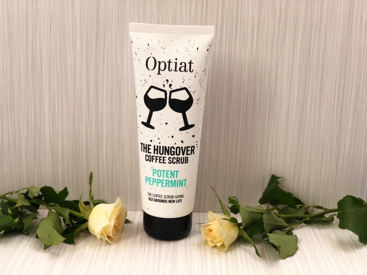 Optiat The Hungover Potent Peppermint Coffee Scrub