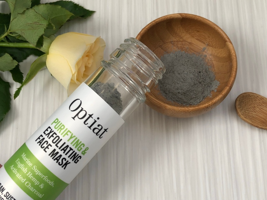 Optiat Purifying & exfoliating face mask