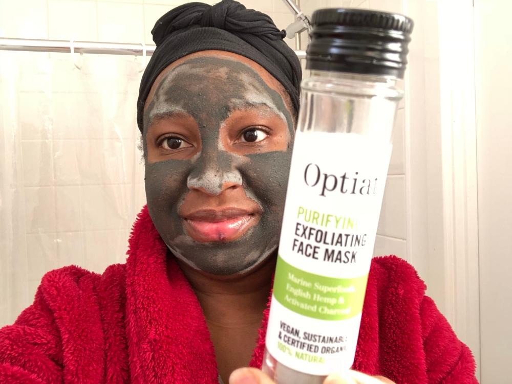 Optiat Purifying & exfoliating face mask